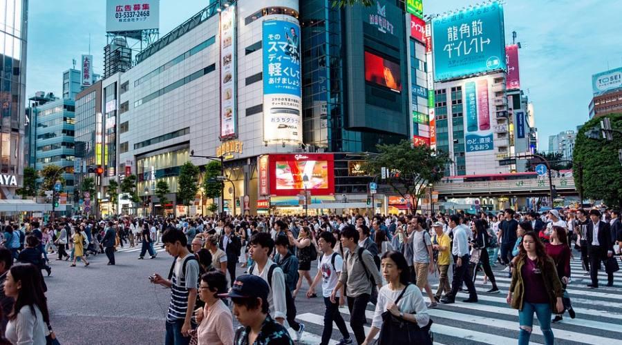 Incrocio di Shibuya - Tokyo