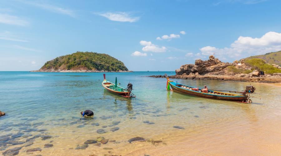 Spiaggia paradisiaca