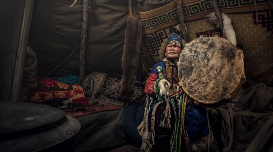 Shamana mongola
