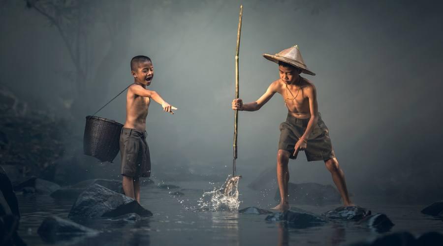 Scene di vita quotidiana - Myanmar