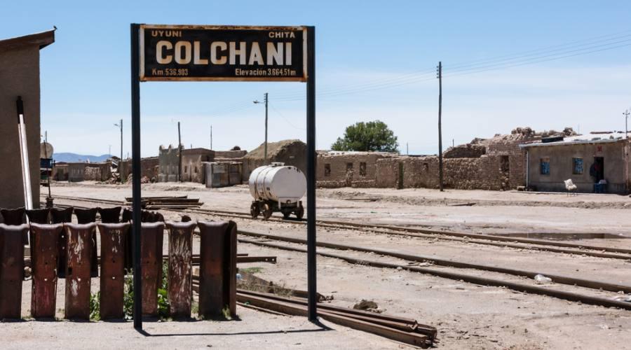 Colchani cimitero dei treni - Bolivia