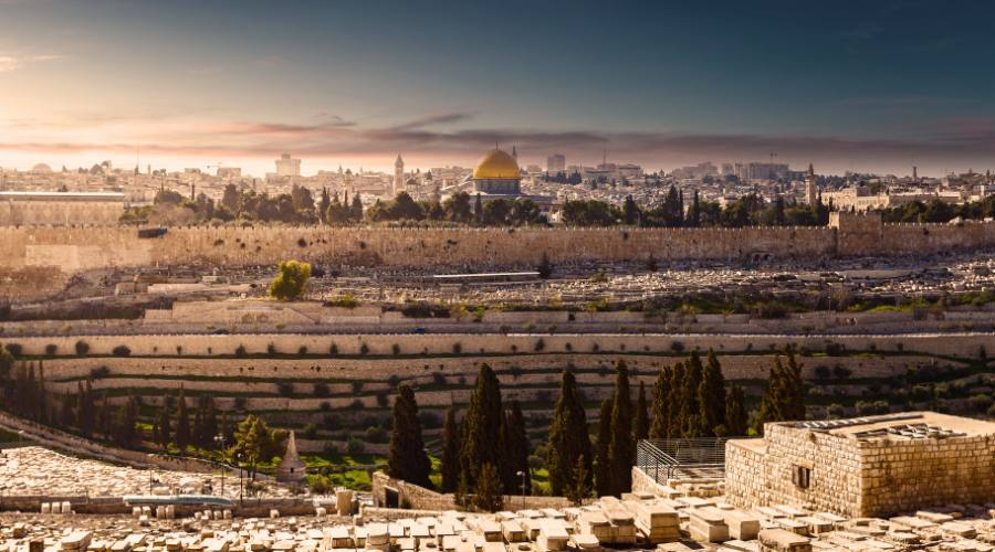 Monte degli Ulivi - Gerusalemme