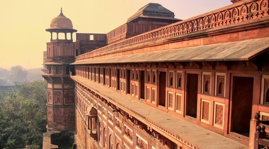 Agra - Jahangiri Mahal