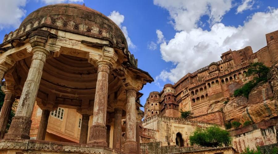 Jodhpur - Forte Mehrangarh