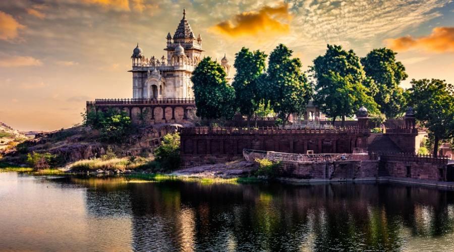 Jodhpur - Mausoleo Jaswanth Thada