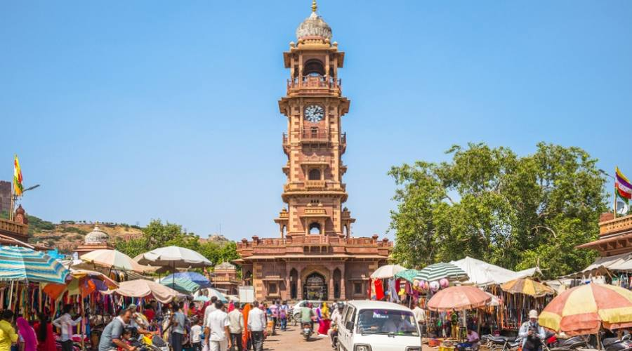 Jodhpur - Ghanta Ghar (Clock Tower)