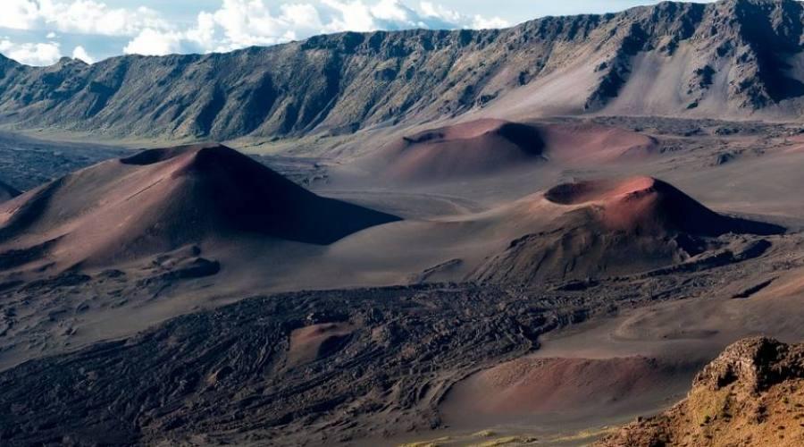 Maui il cratere del vulcano Haleakala
