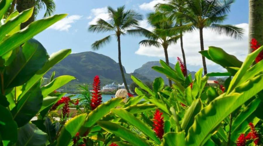 Kauai la bellissima vista da Nawiliwili
