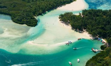 la Nazione Arcobaleno e crociera in catamarano a Mauritius