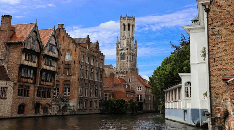 Bruges canale navigabile