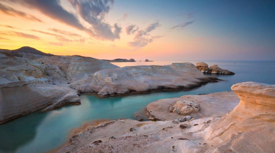 Milos - spiaggia di Sarakiniko