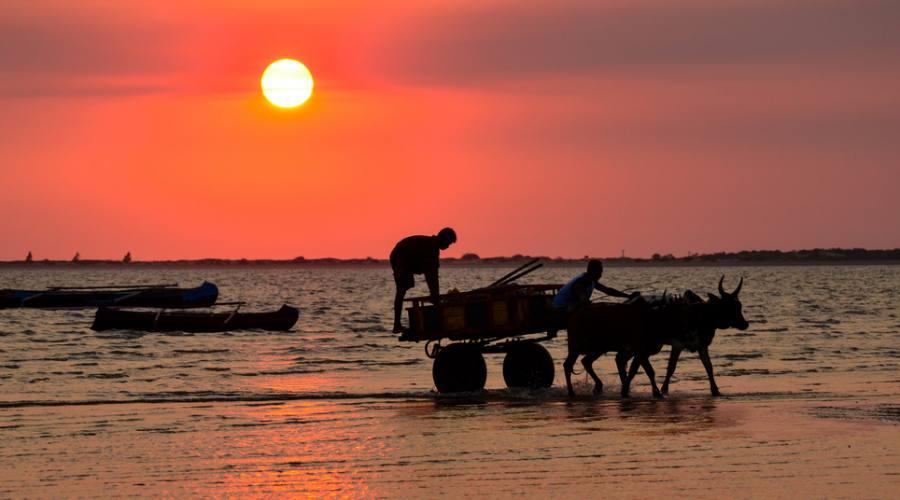 tramonto in Madagascar