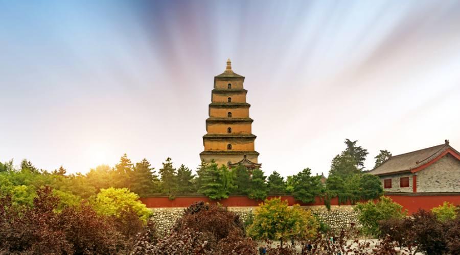 Xi'an - Pagoda della Grande Oca Selvatica