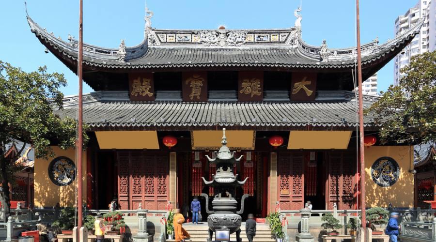 Nanshi - Tempio del Buddha di giada