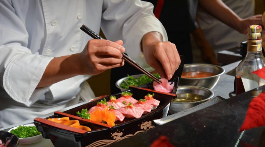 Vuoi assaggiare un piatto di sushi?