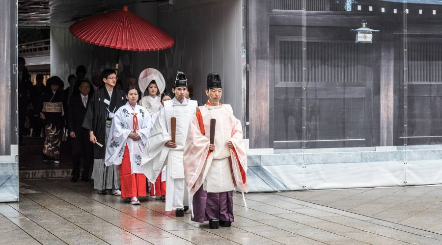 Un tipico matrimonio giapponese