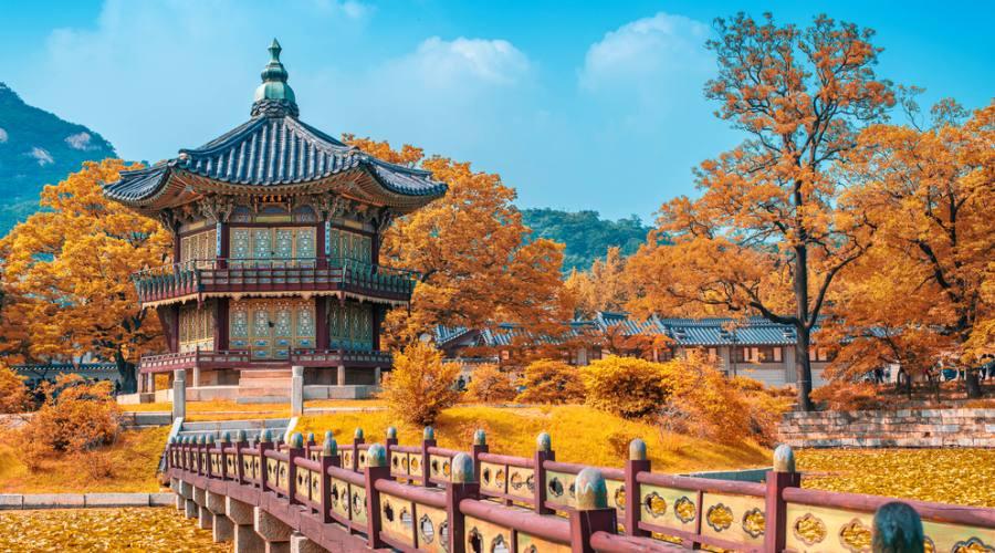 Seoul - Giardini del Gyeongbokgung Palace