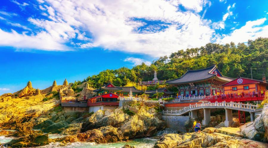 Busan - Haedong Yonggungsa Temple