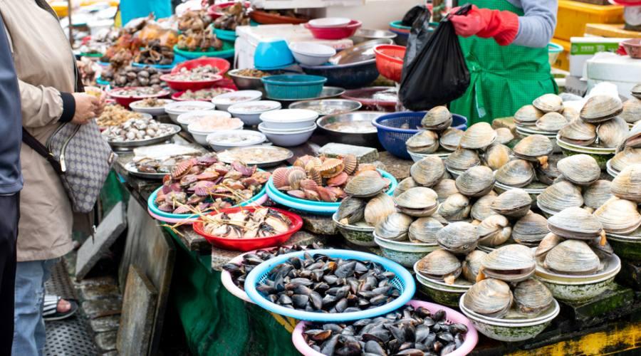 Busan - Mercato del pesce