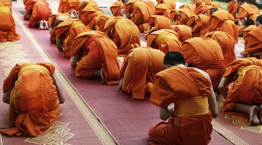 Temple Experience - monaci in preghiera