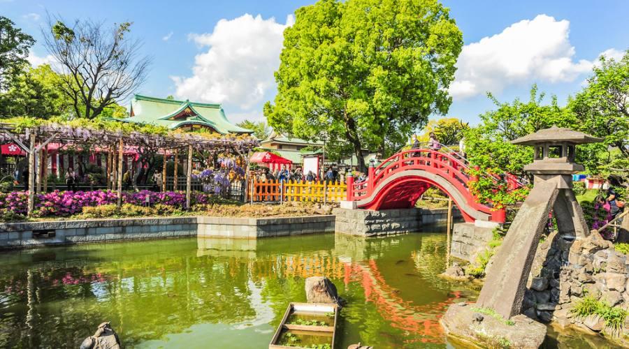 Il Santuario Kameido Tenjin
