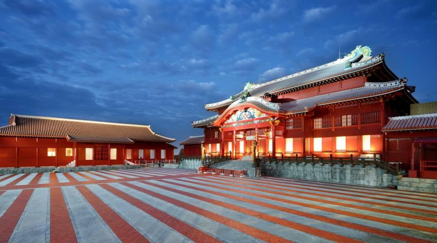 Shuri Castle ad Okinawa