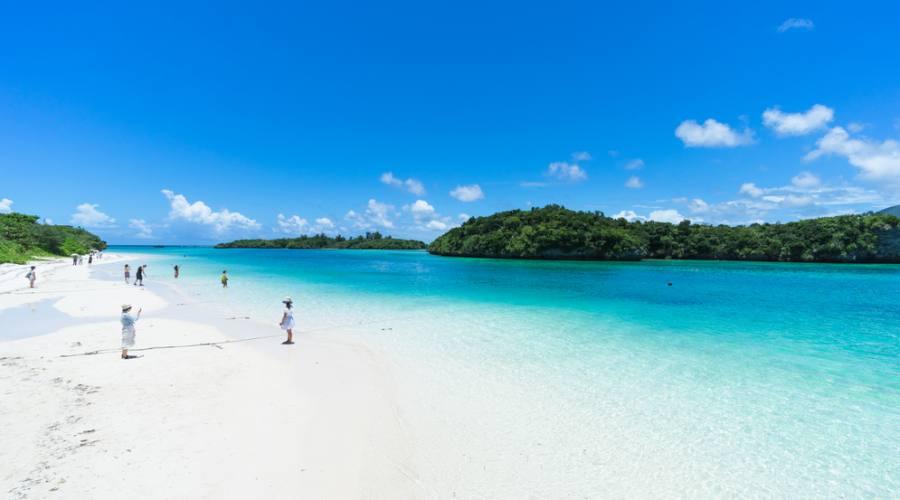 Spiaggia ad Okinawa