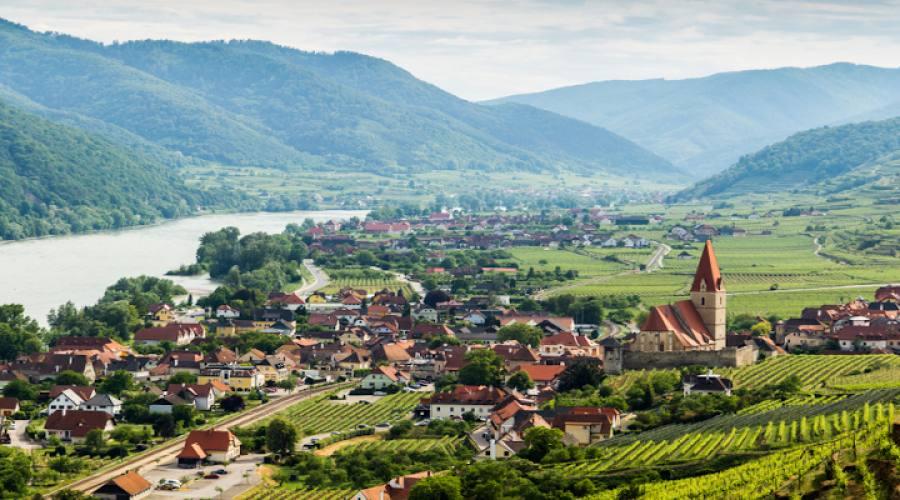 Vista panoramica di Weissenkirchen