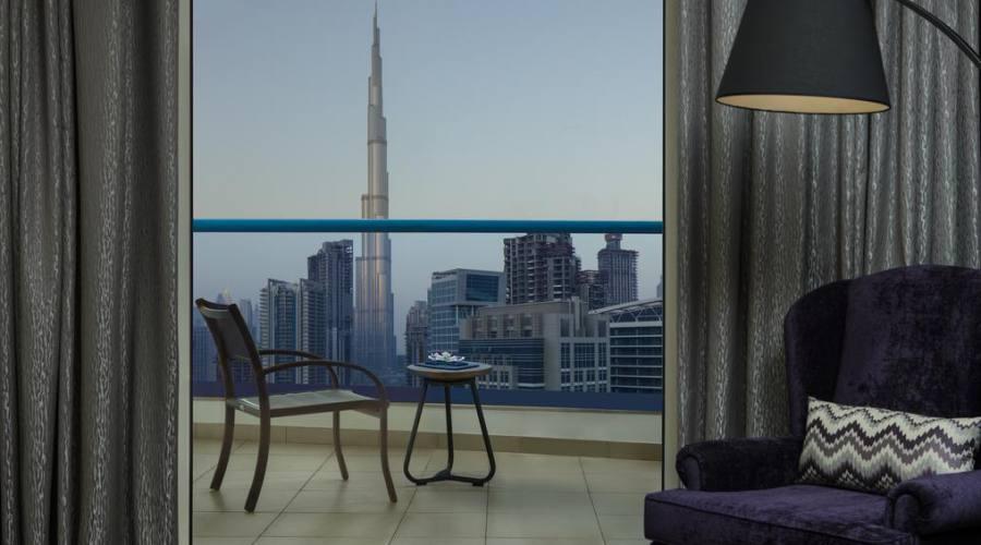 Camera vista Burj Khakifa