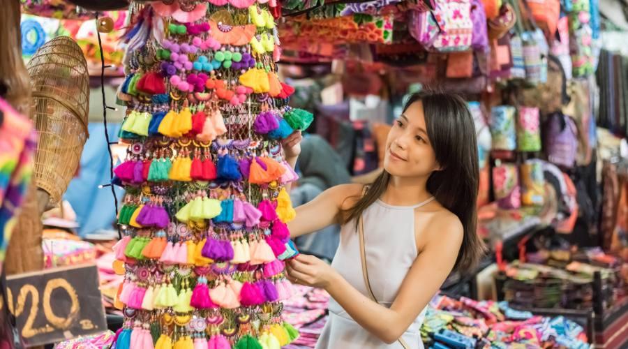 Bangkok - Chatuchak il pi grande mercato della città