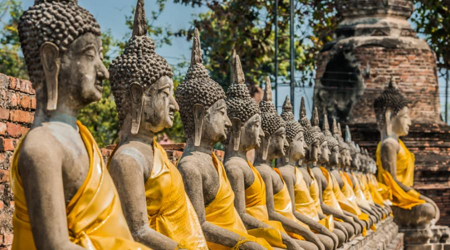 Ayutthaya - Wat Yai Chai Mongko