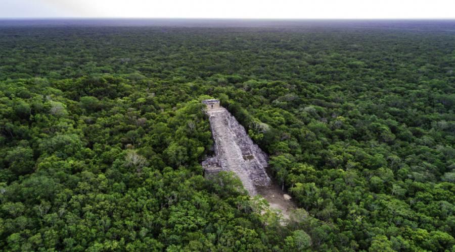 4° giorno: sito di Cobá