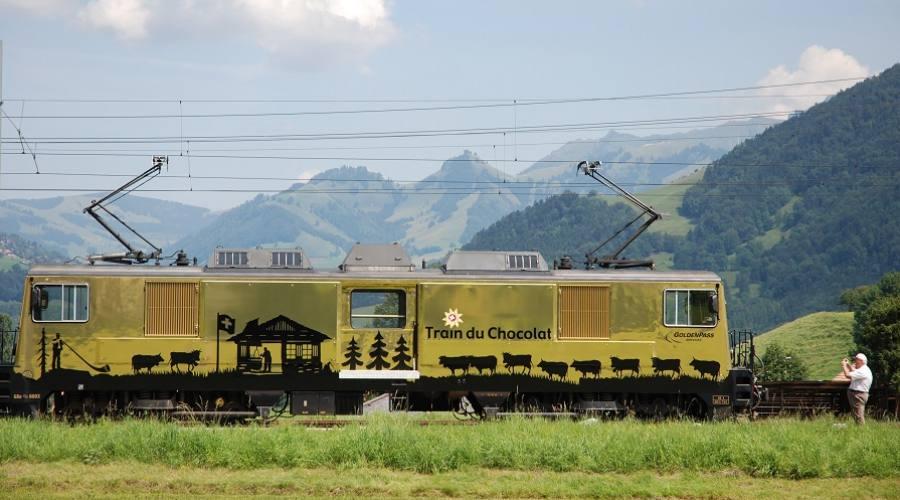 Treno del cioccolato - paesaggi