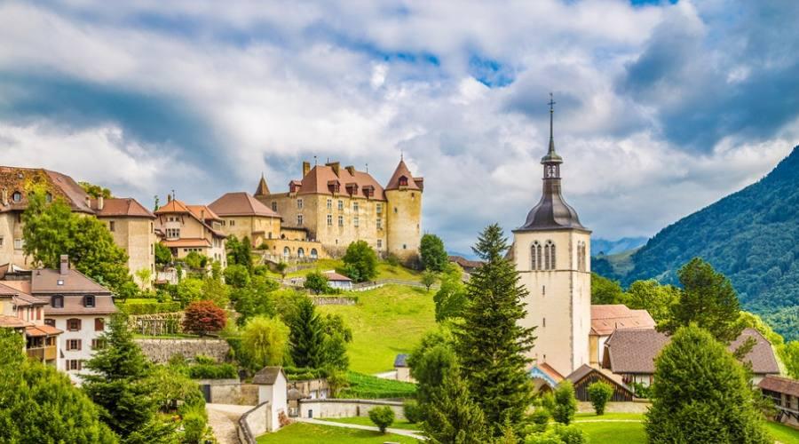 Borgo Medievale di Gruyere