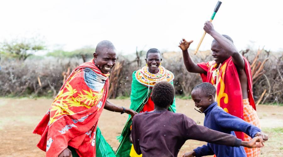 Scene di vita Maasai