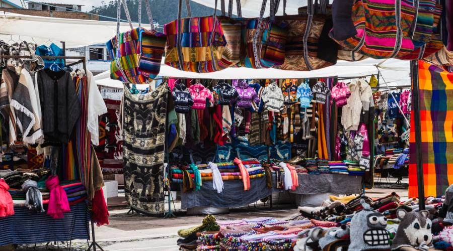Quito - Mercato di Otavalo