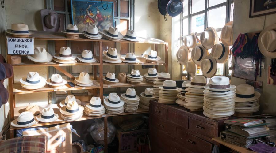 Cuenca - laboratorio artigianale dei capelli Panama