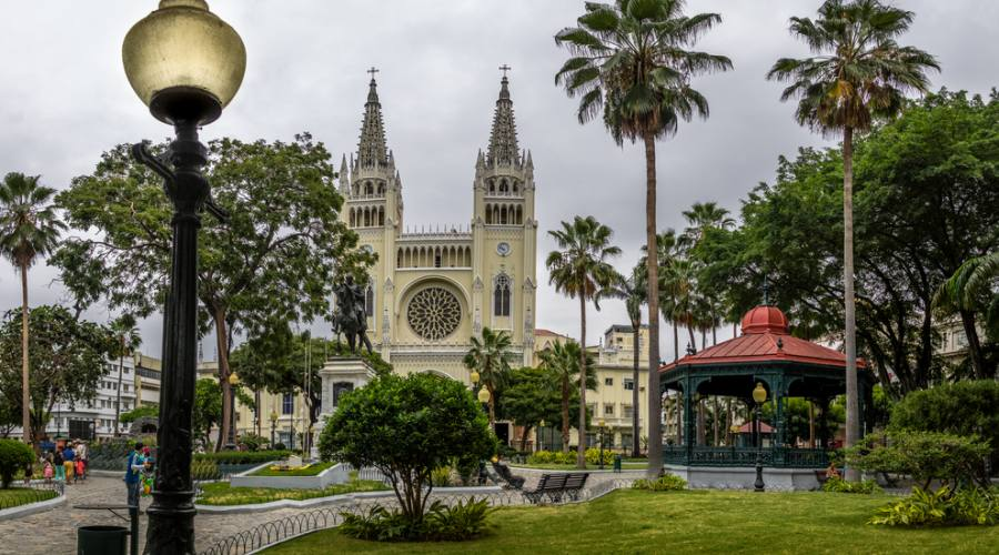 Guayaquil - Cattedrale delle iguane