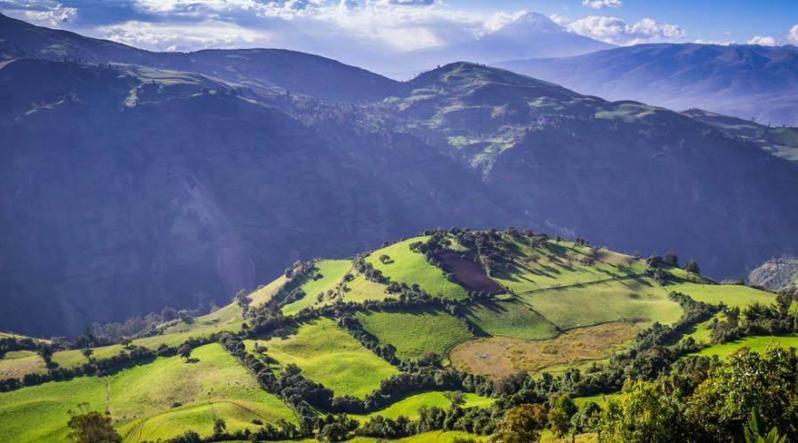 Riobamba - Via dei vulcani