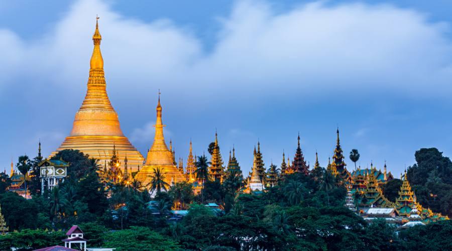 Yagon - Shwedagon Pagoda