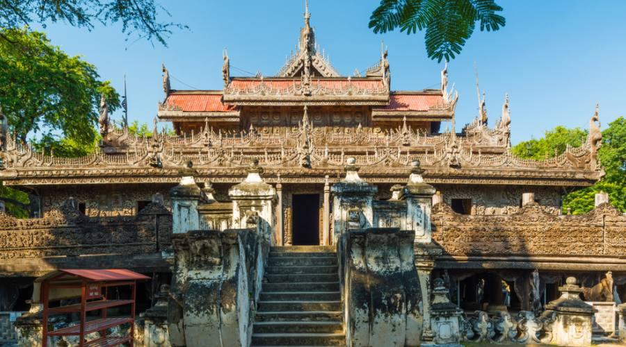 Amarapura - Monastero Shwenandaw
