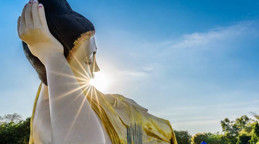 Bago - Buddha reclinato di Shwethalyaung