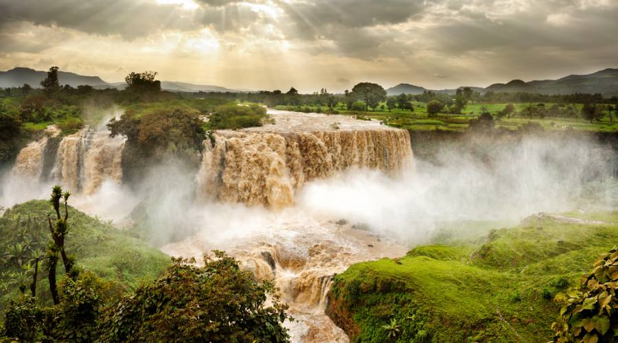Gole del Nilo Azzurro