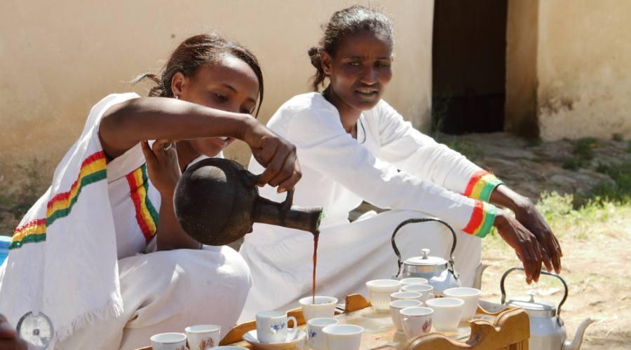 Tradizionale cerimonia del caffè