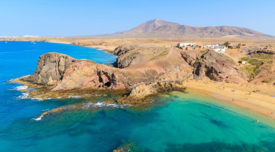 Lanzarote - Playa de Papayago
