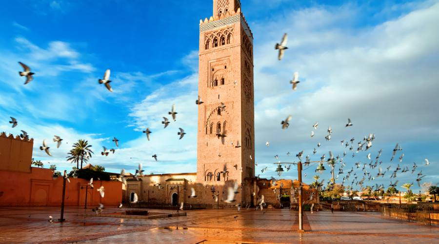 Marrakech - Moschea Koutoubia