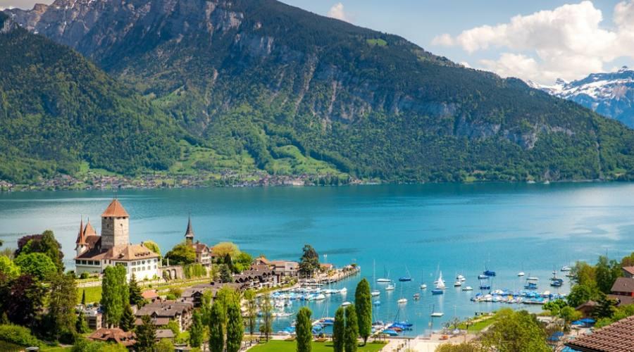 Spiez e il lago di Thun