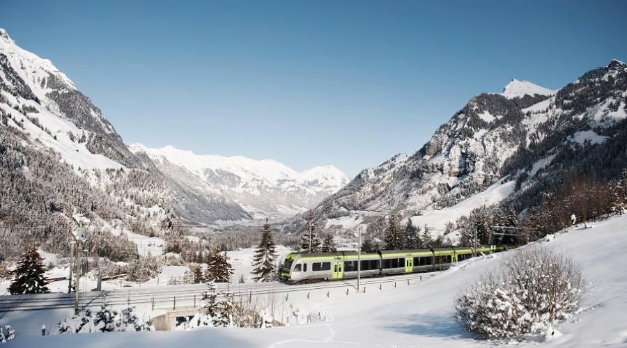 Trenino Verde delle Alpi - paesaggi invernali