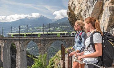 Weekend con il Trenino Verde delle Alpi