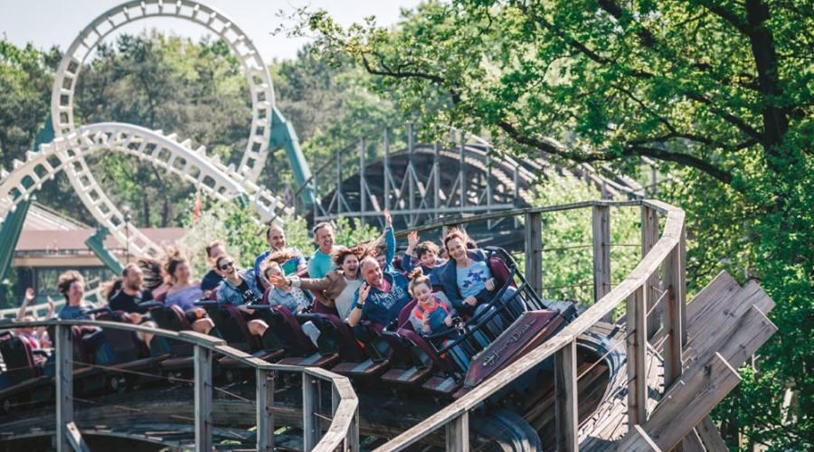 Woodn coaster ad Efteling